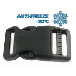 ANTI-FREEZE Heavy duty Side Release Buckle 25 mm, Contoured