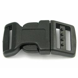 Side Release Buckle 17mm, Contoured